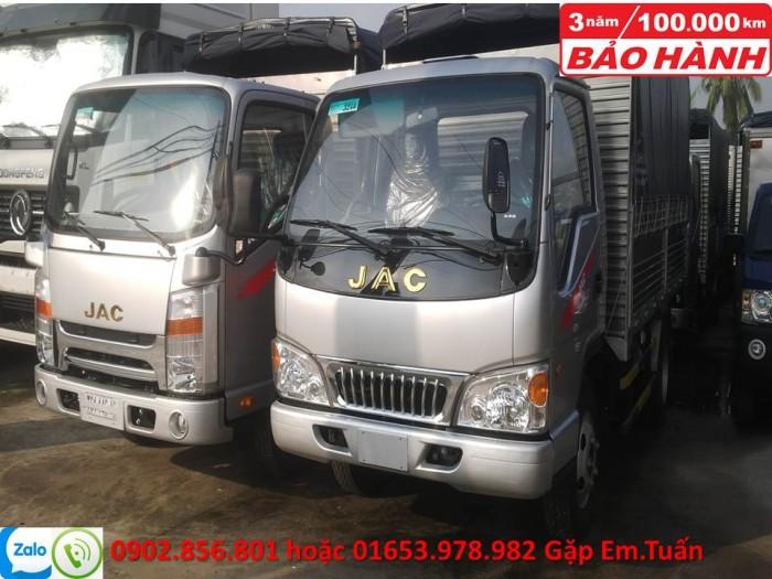 Xe tải JAC 2 tấn 4 4
