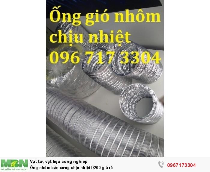Ống nhôm nhún chịu nhiệt D200 giá rẻ1