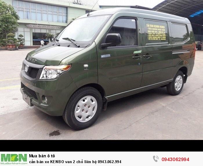 Cần bán xe KENBO van 2 chổ 2