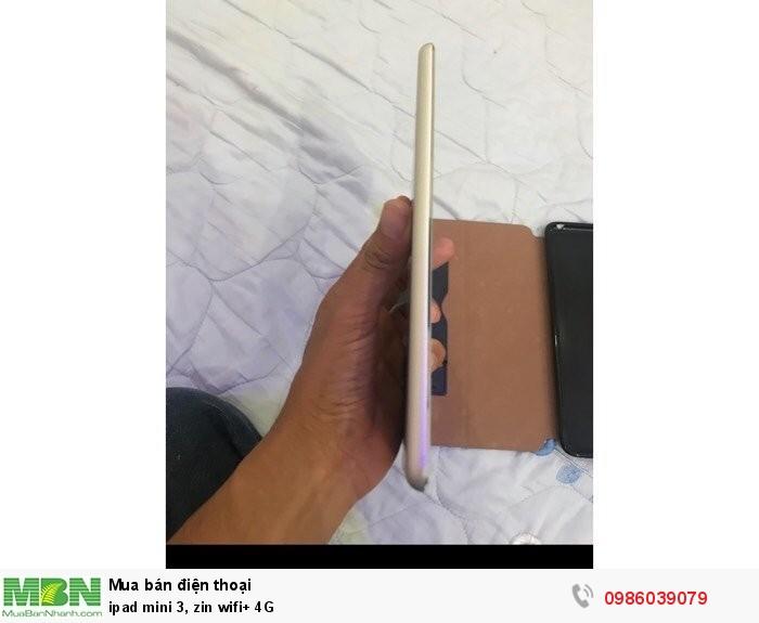 Ipad mini 3, zin wifi+ 4G2