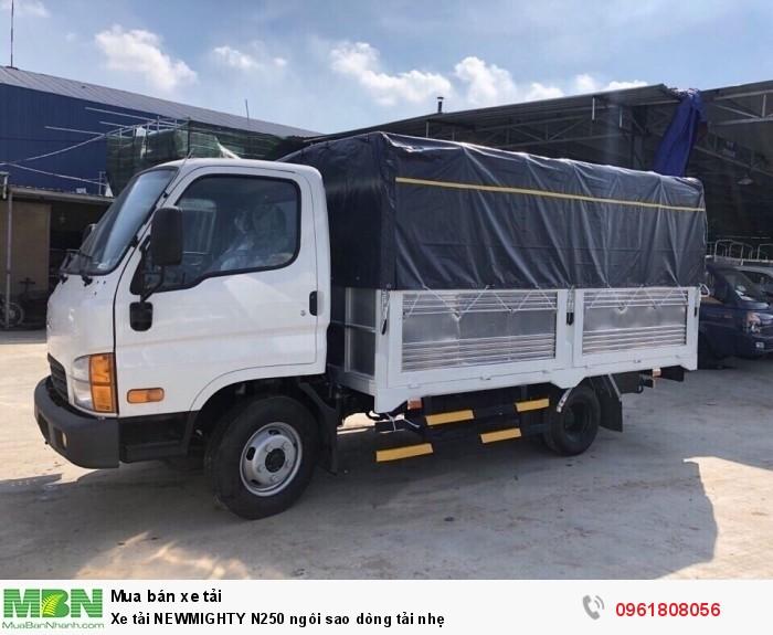 Xe tải NEWMIGHTY N250 ngôi sao dòng tải nhẹ