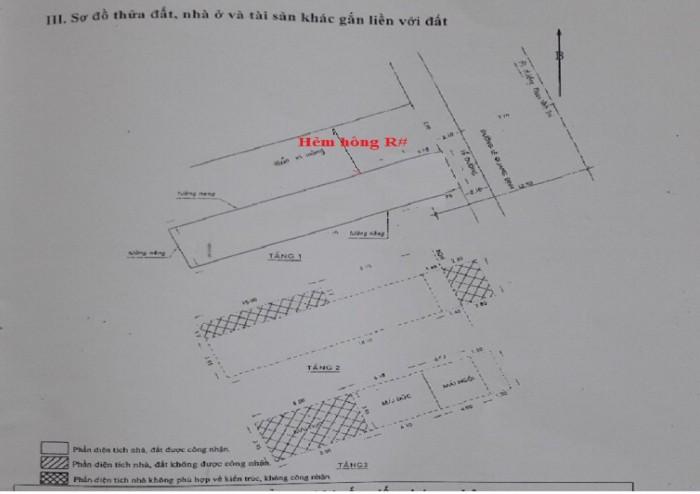 Căn góc 2 Mặt tiền Đường Lê Quang Định (Ngay Chợ Bà Chiểu) ,4.2m x22m, 3 tầng, 16 tỷ