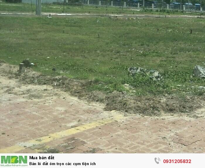 Bán lô đất ôm trọn các cụm tiện ích