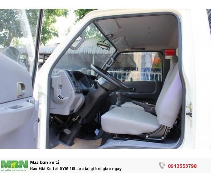 Báo Giá Xe Tải SYM 1t9 - xe tải giá rẻ giao ngay