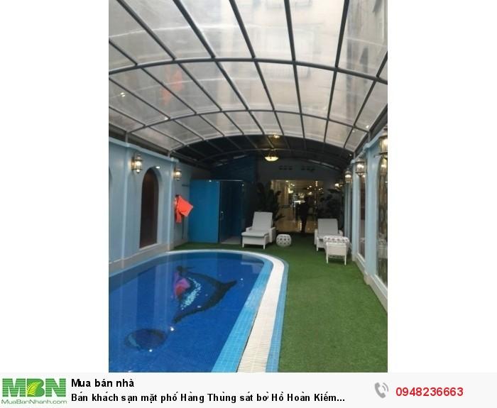 Bán khách sạn mặt phố Hàng Thùng sát bờ Hồ Hoàn Kiếm Hà Nội 446m2 xây 13 tâng 325 tỷ