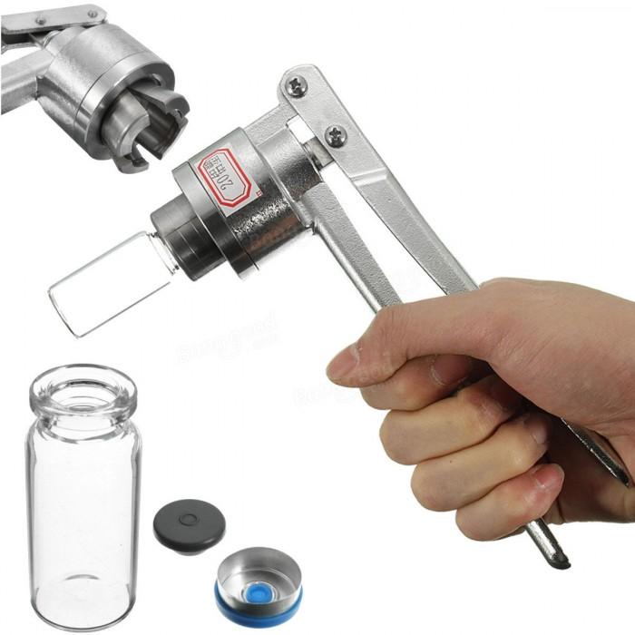 Kìm siết nắp chai vacxin thủ công, kìm kẹp nắp nhôm có mũ nhựa cho chai 5ml..1