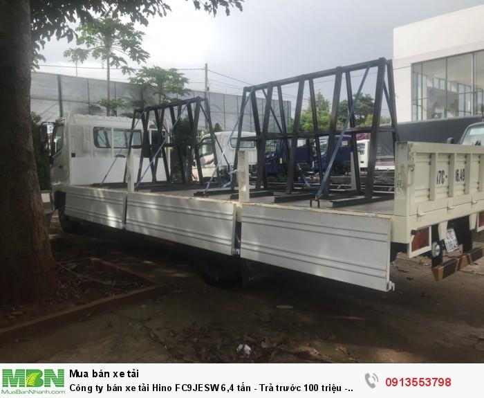 Công ty bán xe tải Hino FC9JESW 6,4 tấn - Trả trước 100 triệu - Giao xe ngay - Gọi 0913553798 (24/24)