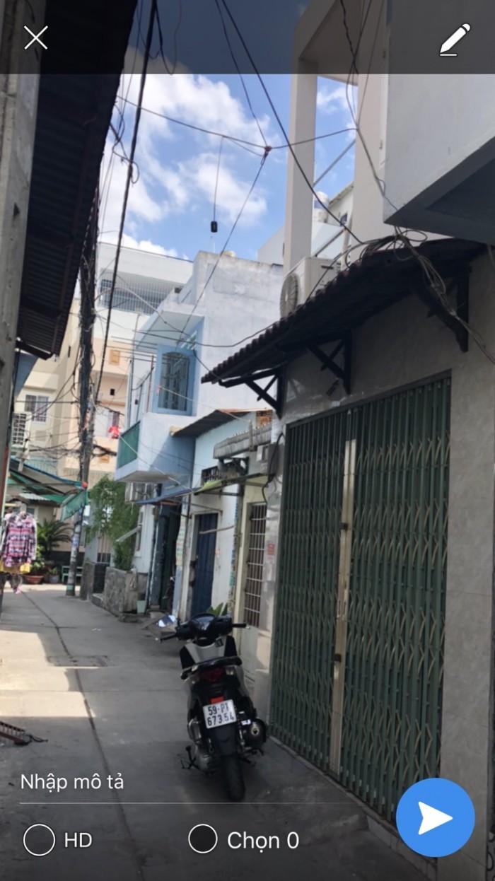 Bán nhà hẻm đường Đô Đốc Long , P Tân Quý Q Tân Phú
