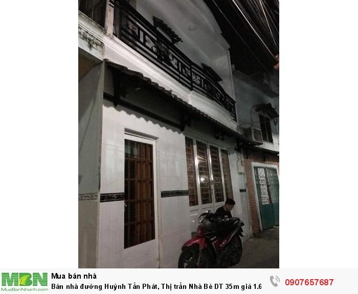 Bán nhà đường Huỳnh Tấn Phát, Thị trấn Nhà Bè DT 35m
