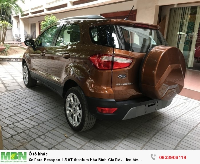 Xe Ford Ecosport 1.5 AT titanium Hòa Bình Gía Rẻ - trao đổi giá tốt nhất