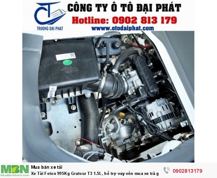 Xe Tải Foton 995Kg Gratour T3 1.5L, hỗ trợ vay vốn mua xe trả góp 80%