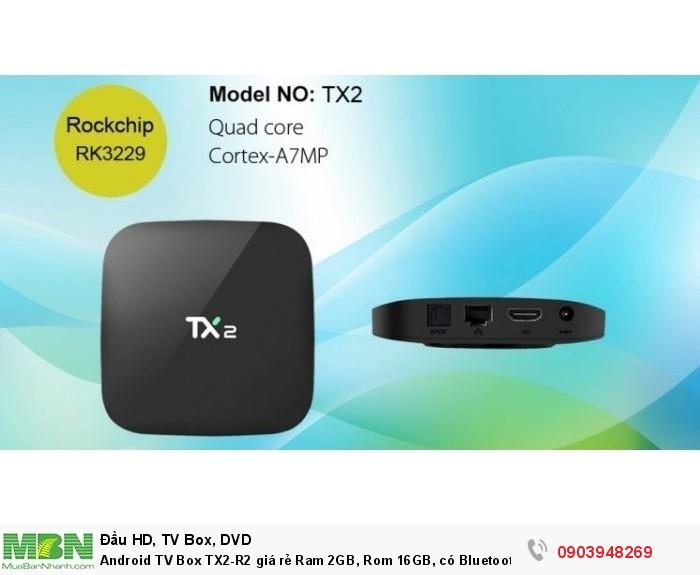 Android TV Box TX2-R Kích thước nhỏ gọn nhất trong các mẫu android ram 2 Gb 103 x 103 x 18mm, Trọng lượng nhẹ nhàng dễ dàng đem theo bên mình: 100g