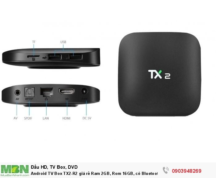 Android TV Box TX2-R2 tại  Điện Máy Hải số 41 Lê Văn Ninh, P Linh Tây, chợ Thủ Đức bán chỉ có 990K và còn khuyến mãi chuột không dây Kiwi S183 trị giá đến 100K