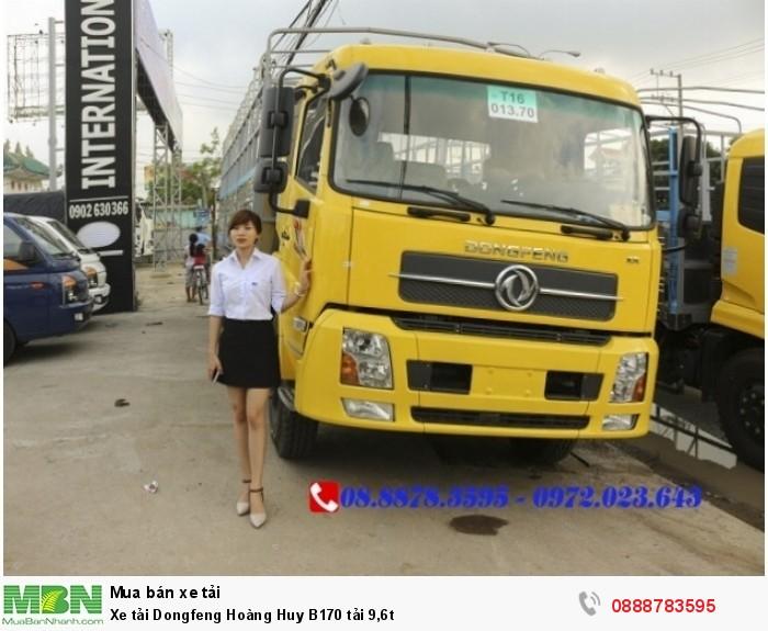 Xe tải Dongfeng Hoàng Huy B170 tải 9,6t