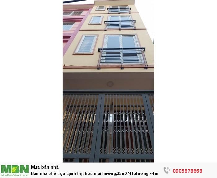 Bán Nhà Phố Lụa-Cạnh Thịt Trâu Mai Hương,35M2*4T,đường ~4M.