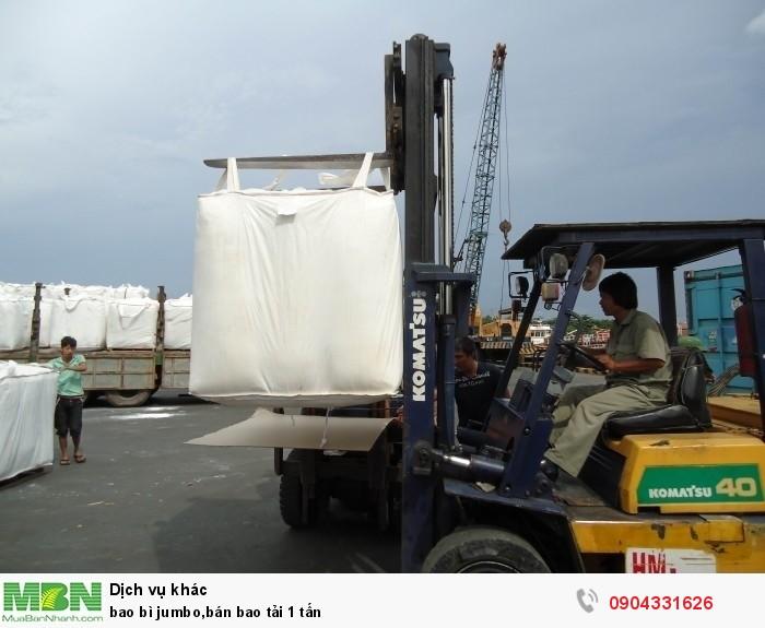 Bao bì jumbo, bán bao tải 1 tấn1