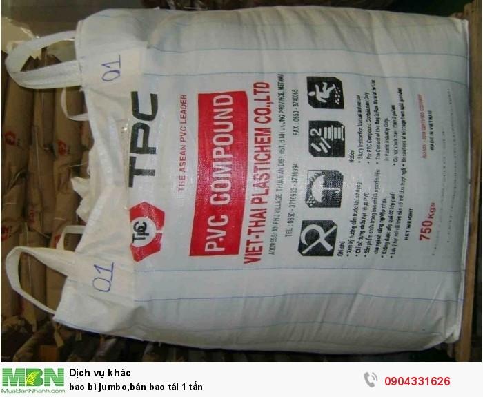 Bao bì jumbo, bán bao tải 1 tấn2