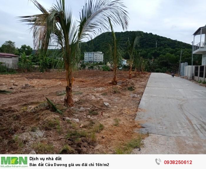 Bán đất Cửa Dương giá ưu đãi chỉ 16tr/m2