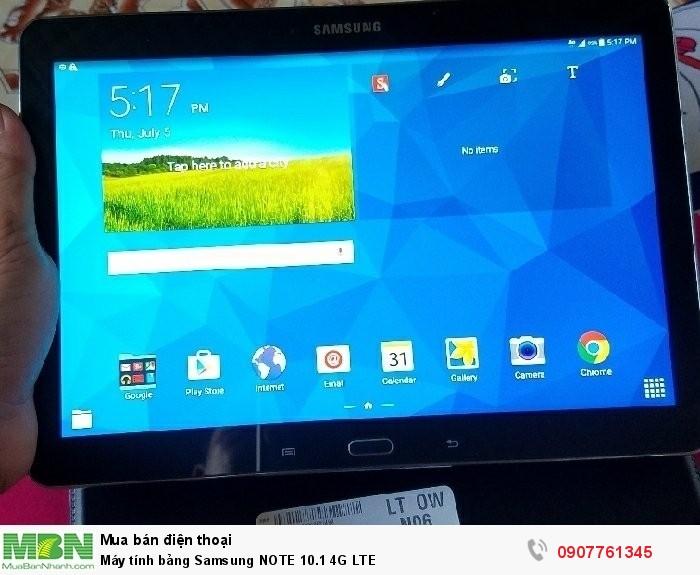 Máy tính bảng Samsung NOTE 10.1 4G LTE0