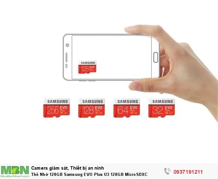 Thẻ Nhớ 128GB Samsung EVO Plus U3 128GB MicroSDXC2