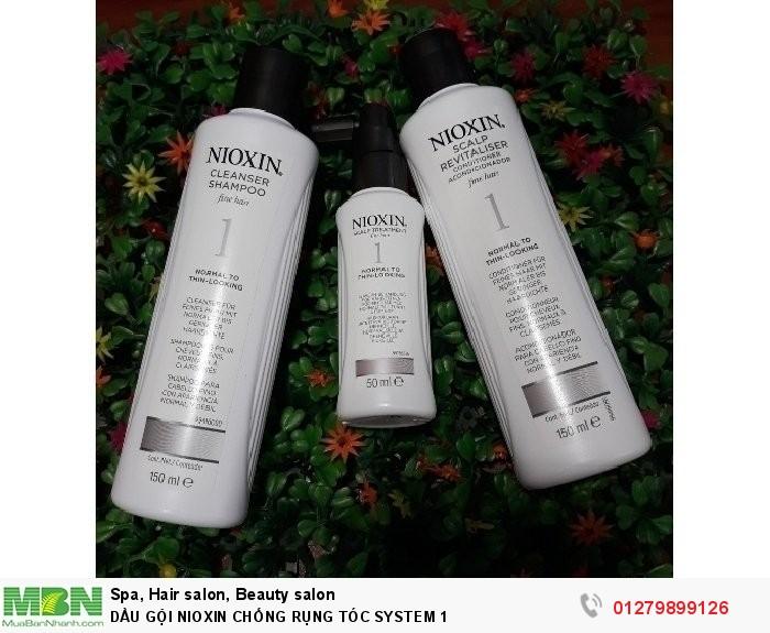 Dầu gội nioxin chống rụng tóc system 11