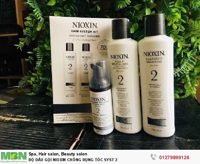 Bộ dầu gội nioxin chống rụng tóc syst 21