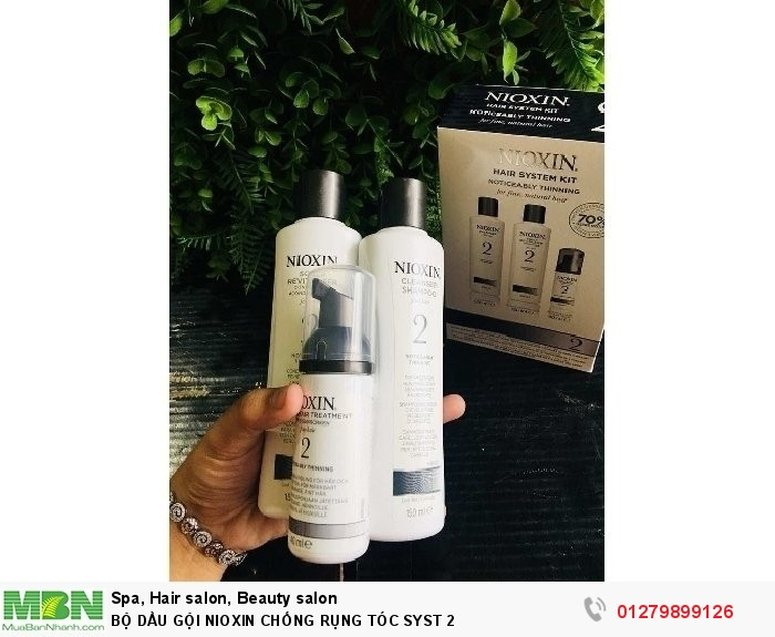 Bộ dầu gội nioxin chống rụng tóc syst 22
