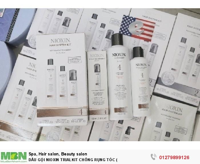 Dầu gội nioxin trialkit chống rụng tóc (2