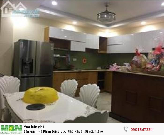 Bán gấp nhà Phan Đăng Lưu Phú Nhuận 57m2, 4,9 tỷ