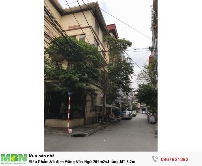 Siêu Phẩm-Vô địch Đặng Văn Ngữ 205m2x4 tầng,MT 8.2m