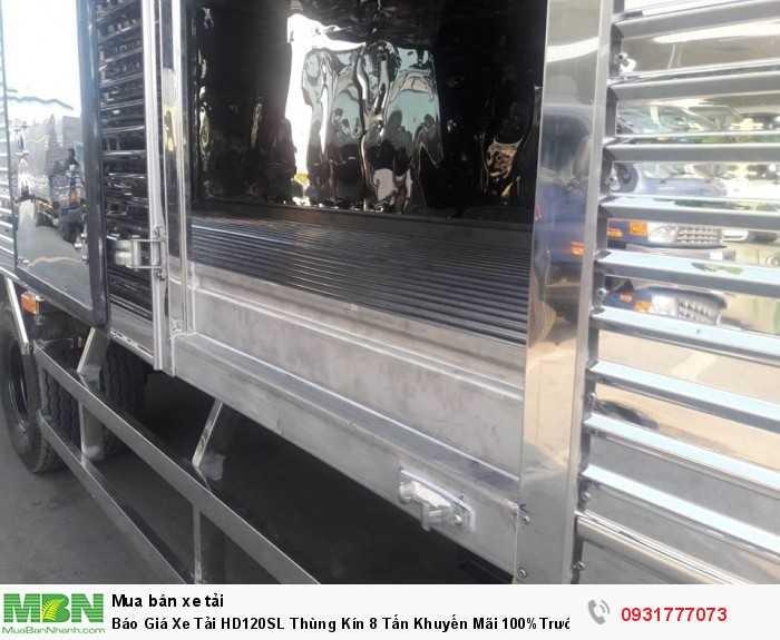 Xe tải Hyundai HD120SL 8 tấn thùng kin - Hỗ trợ tất cả các ngân hàng ở tất cả các tỉnh