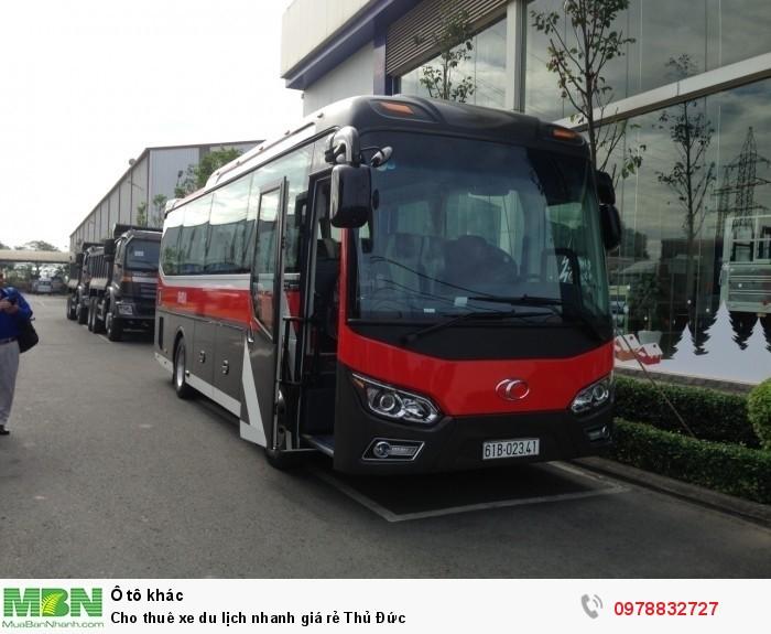 Cho thuê xe du lịch nhanh giá rẻ Thủ Đức 1