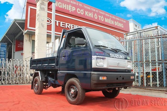 Xe ben Suzuki 500kg Carry Truck thùng 0.6 khối EURO 4 trả trước  28 triệu đồng khuyến mãi 5 chỉ vàng 15