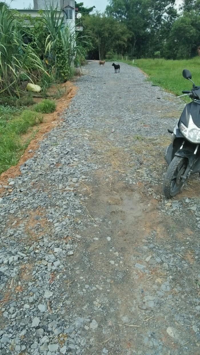 Đất 10x40, Tân Phú Trung, đường đá mi 4m