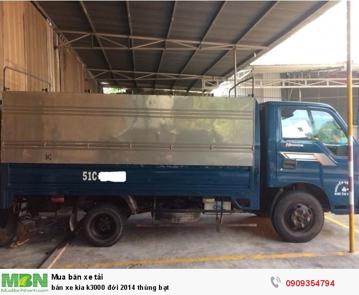 Bán xe Kia K3000 đời 2014 thùng bạt