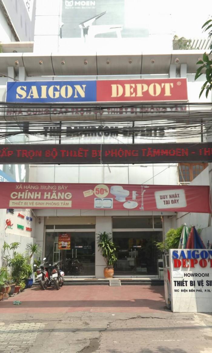 Bán Building MT Điện Biên Phủ. 7.6x14. 4 L.