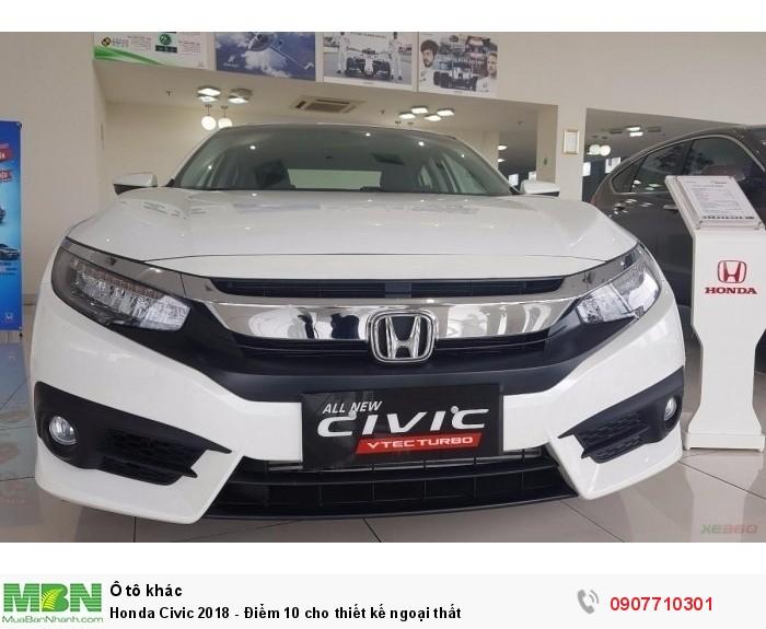 Honda Civic 2018 - Điểm 10 cho thiết kế ngoại thất