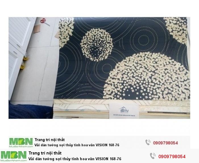 Vải dán tường sợi thủy tinh hoa văn  VISION 168-76