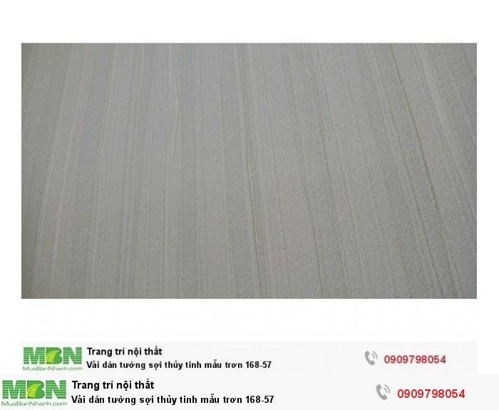 Vải dán tường sợi thủy tinh mẫu trơn 168-571