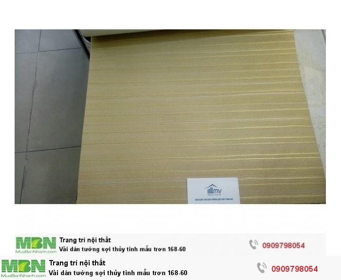 Vải dán tường sợi thủy tinh  mẫu trơn 168-60