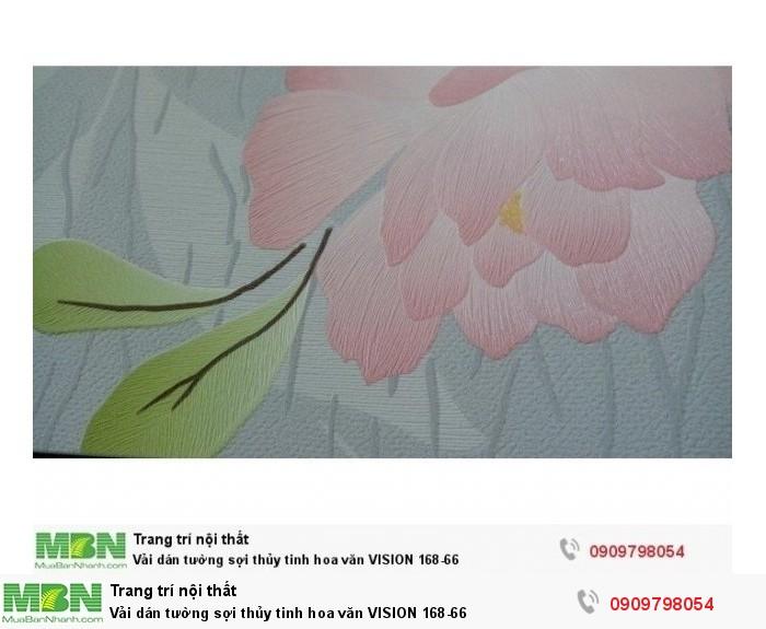 Vải dán tường sợi thủy tinh hoa văn  VISION 168-660