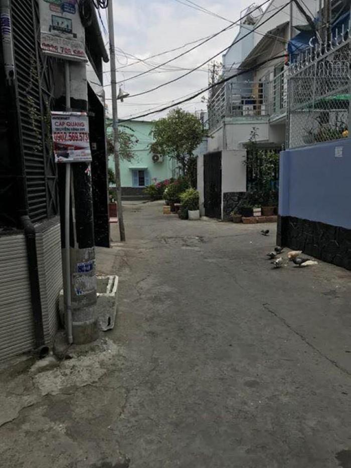 Định cư Mỹ bán nhà HXH Bình Thạnh Phan Văn Trị 60m2 4.65 tỷ.