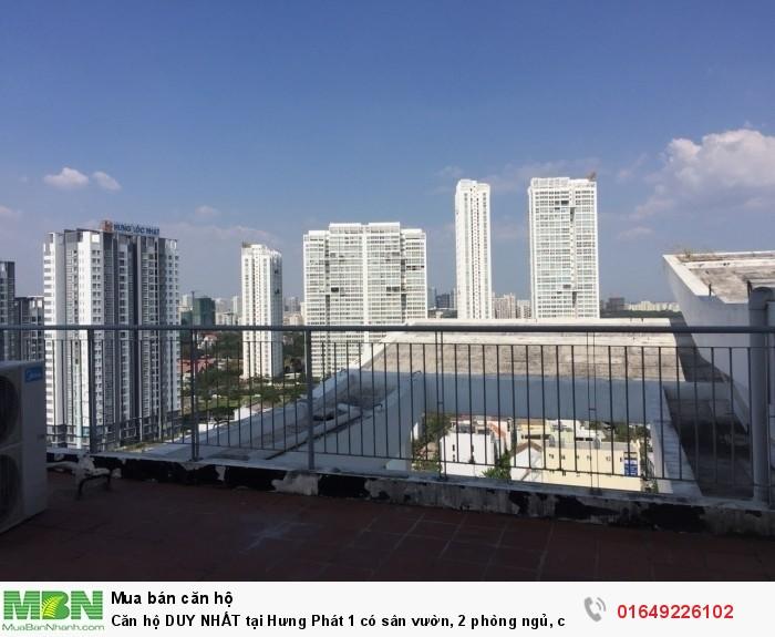 Căn hộ DUY NHẤT tại Hưng Phát 1 có sân vườn, 2 phòng ngủ, căn góc lầu cao giá 1,8 tỷ
