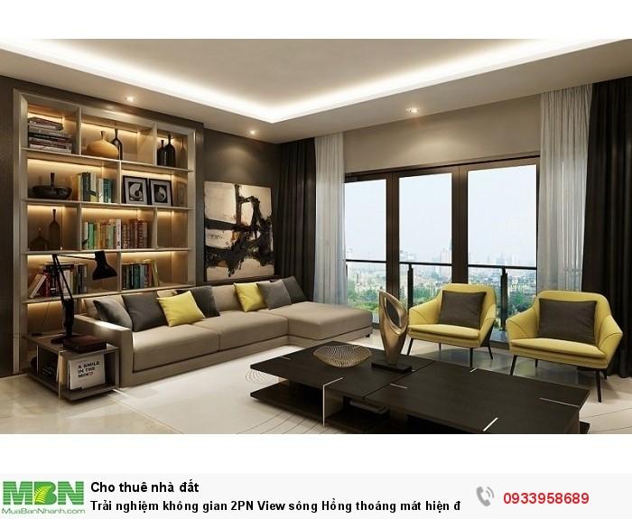 Trải nghiệm không gian 2PN View sông Hồng thoáng mát hiện đại tại Sun Grand City Ancora Residence