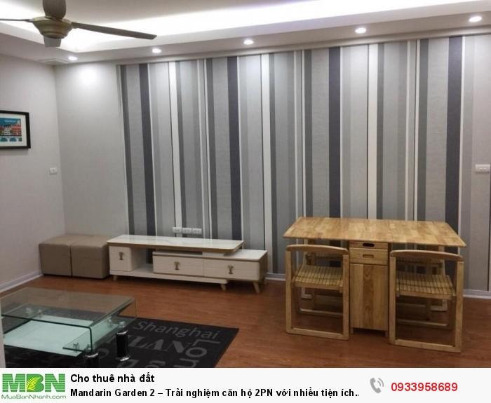 Mandarin Garden 2 – Trải nghiệm căn hộ 2PN với nhiều tiện ích đẳng cấp và View thoáng mát