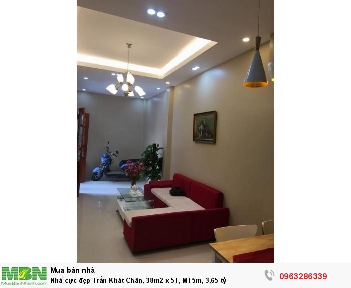 Nhà cực đẹp Trần Khát Chân, 38m2 x 5T, MT5m
