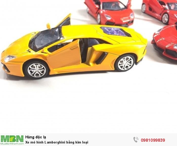 Xe mô hình Lamborghini bằng kim loại0