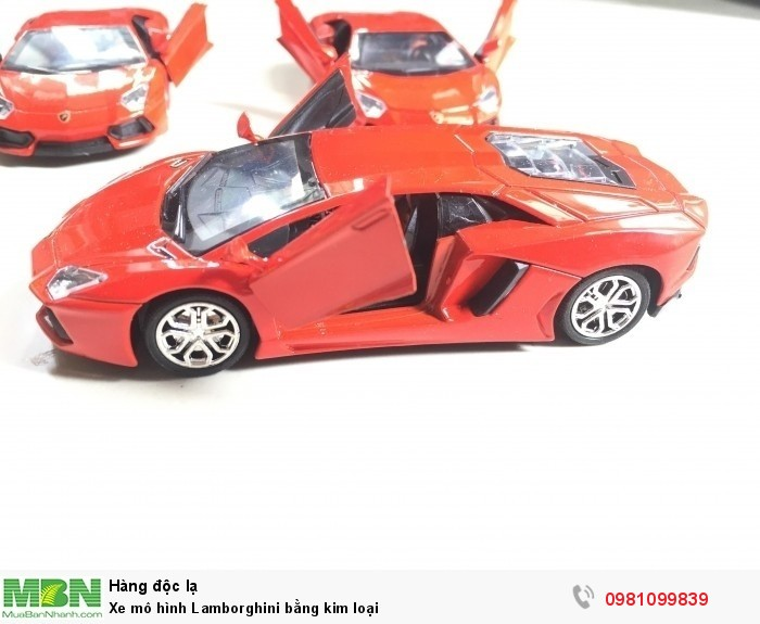 Xe mô hình Lamborghini bằng kim loại1