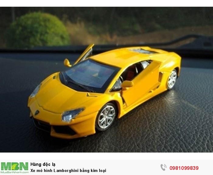 Xe mô hình Lamborghini bằng kim loại3