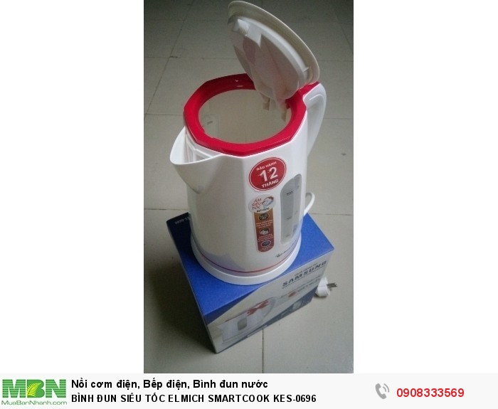 Bình đun siêu tốc ELMICH SMARTCOOK KES-06960